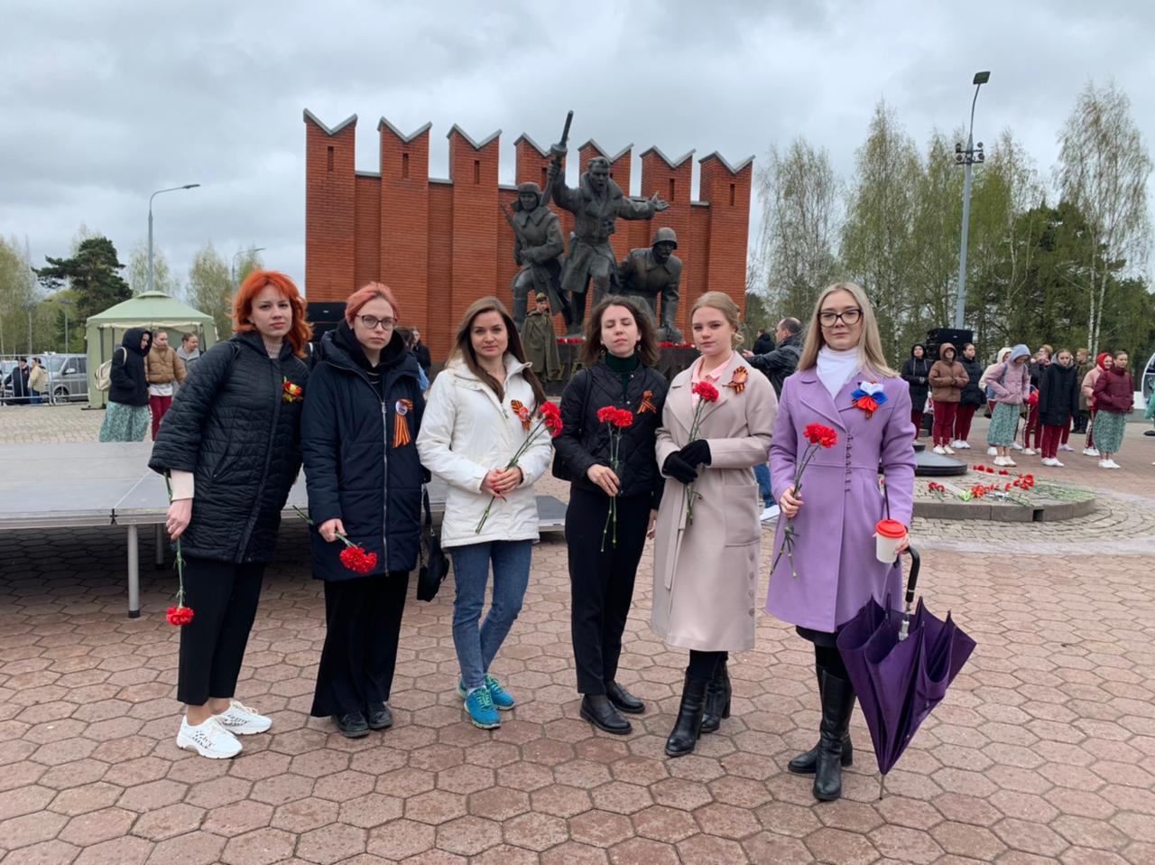 Митинг, посвящённый 76-летию Победы в Великой Отечественной войне